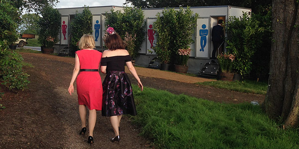 Portable loo hire for parties